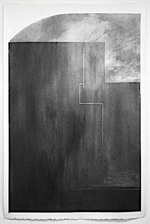 Rina Charlott Lindgren, Stille, 2015, 113 x 74 cm