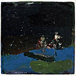 Tone Indrebø: Natt, 2014, 31 x 32 cm