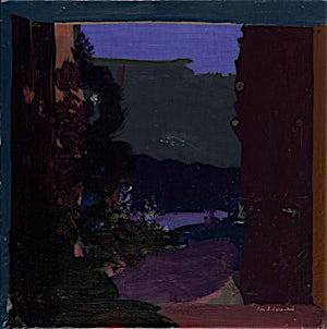 Tone Indrebø, Mot elven, 2014, 60 x 60 cm