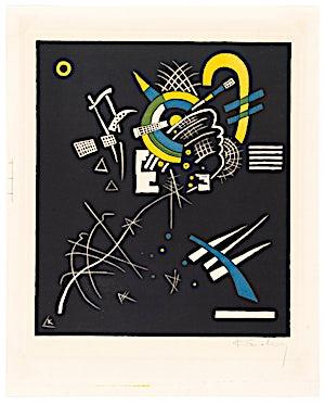 Wassily Kandinsky (1886-1944), Kleine Welten – Blatt VII, 1922, 37,5 x 28,3 cm